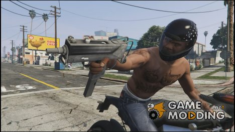 MAC 11 Grey 0.1 for GTA 5