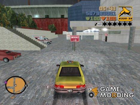 Hospital R-TXD (DLF) для GTA 3