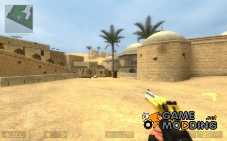 Phonged Two Tone Gold Deagle для Counter-Strike Source