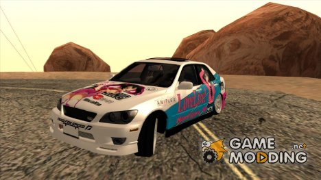 Toyota Altezza Love Live Itasha for GTA San Andreas