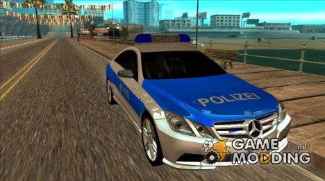 Mercedes E500 Coupe Polizei для GTA San Andreas