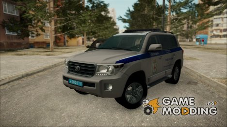 Toyota Land Cruiser 200 ДПС для GTA San Andreas