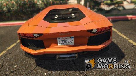 Реальные номерные знаки Калифорнии для GTA 5