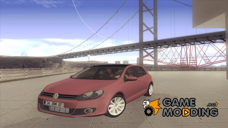 2010 VW Golf Mk6 для GTA San Andreas