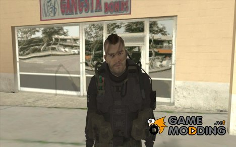 Captain MacTavish for GTA San Andreas