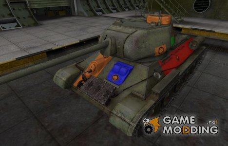 Качественный скин для Т-34-85 для World of Tanks