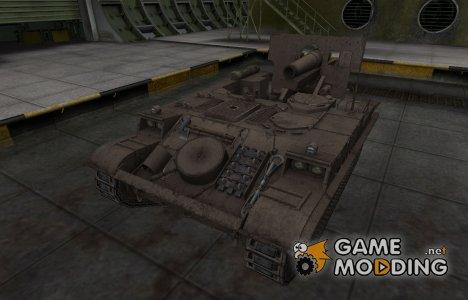 Перекрашенный французкий скин для AMX 13 F3 AM for World of Tanks