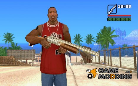 Золотой дробовик for GTA San Andreas