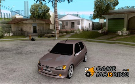 Peugeot 106 GTI Tuning for GTA San Andreas