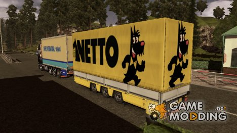Прицеп/тандем NETTO for Euro Truck Simulator 2