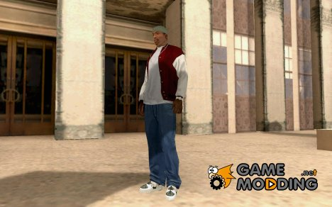 2PAC pic shoes для GTA San Andreas