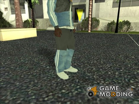 Adidas Suit Pants Grey Blue для GTA San Andreas