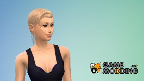 Серьги Starfall for Sims 4