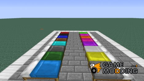 Dyeable Beds Mod for Minecraft