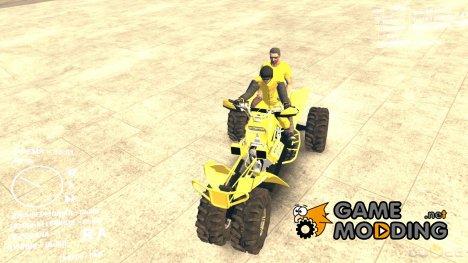 Трицикл жёлтый скин для Spintires DEMO 2013