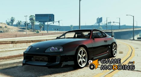 Lights for Supra for GTA 5