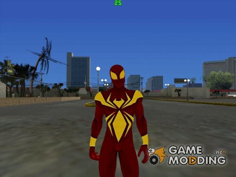The Amazing Spider-Man 2 (Iron Spider) для GTA San Andreas
