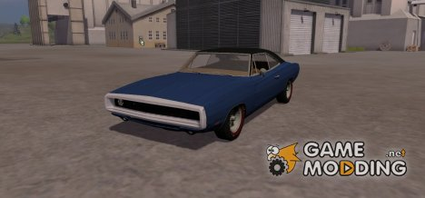 Dodge Charger 1969 для Farming Simulator 2013