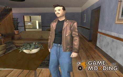 GTA III Playa2 Skin for GTA San Andreas
