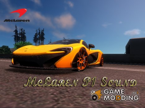 McLaren P1 Sound for GTA San Andreas
