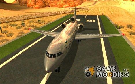 Як-42Д Львов (Украина) для GTA San Andreas