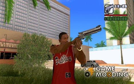 S&W M29 Satan 44 для GTA San Andreas