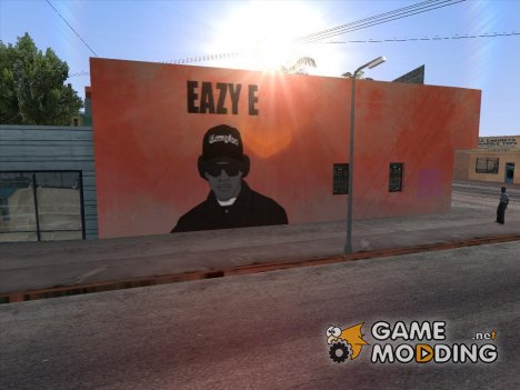 Eazy-E graffiti for GTA San Andreas