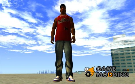 Blue Nike Air Force для GTA San Andreas