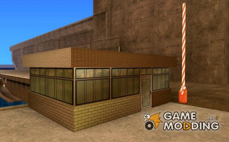 HD будка на КПП for GTA San Andreas