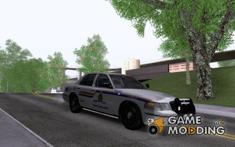 Ford Crown Victoria Royal Canadian Mounted Polic for GTA San Andreas
