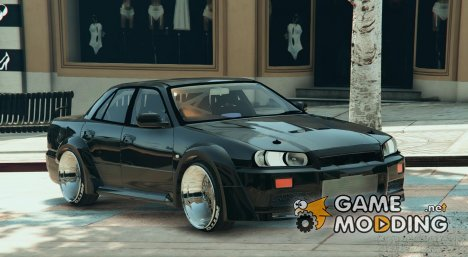 Nissan Skyline ER34 RocketBunny for GTA 5