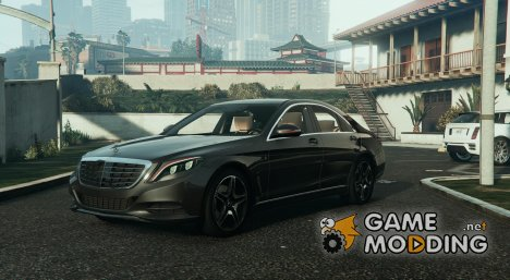 Mercedes-Benz S63 W222 v 1.1 for GTA 5
