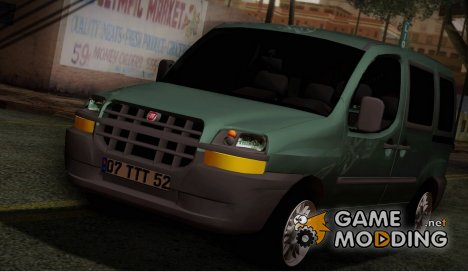 Fiat Doblo 2005 for GTA San Andreas