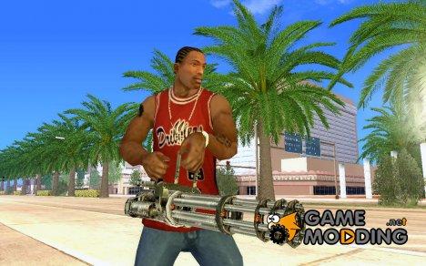 Шестистволка для GTA San Andreas
