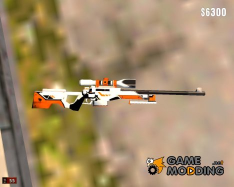AWP Asiimov for Mafia: The City of Lost Heaven