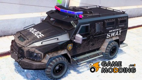 Need For Speed SWAT VAN для GTA 4