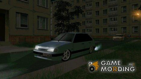 ВАЗ 2114 F1 Motors для GTA San Andreas