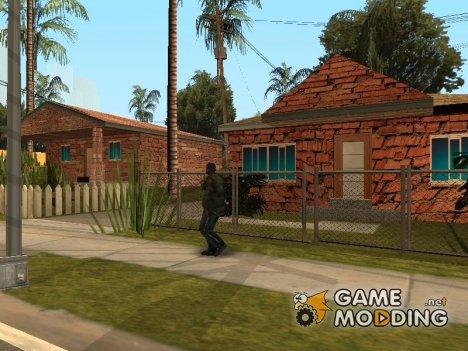 Новые текстуры домов на Гоув Стрит for GTA San Andreas