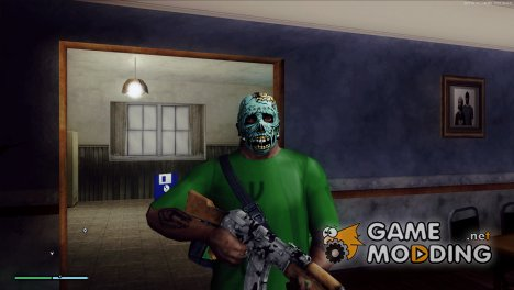 Zombie mask 2 for GTA San Andreas