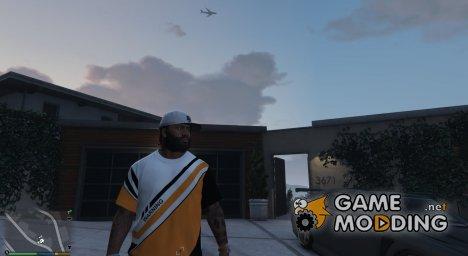 Футболка Asiimov для Франклина for GTA 5