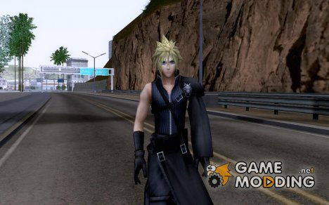 Cloud Strife FFVII для GTA San Andreas