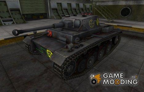 Контурные зоны пробития VK 30.01 (H) for World of Tanks