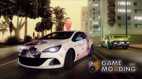 Vauxhall Astra VXR 2012 - Itasha for GTA San Andreas