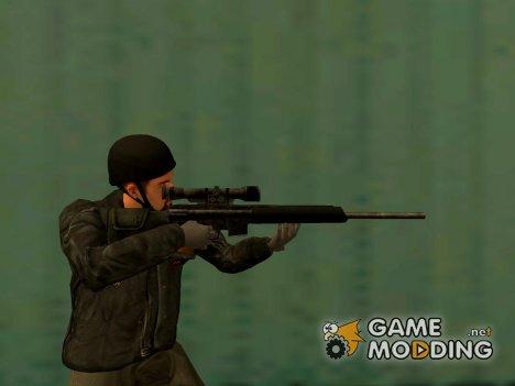 Sniper Rifle Grand Theft Auto 4 для GTA San Andreas