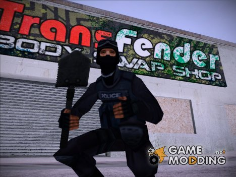 Cапёрная лопатка из Warface for GTA San Andreas