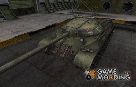 Скин с надписью для ИС-3 для World of Tanks
