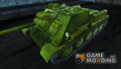 Шкурка для СУ-100 для World of Tanks