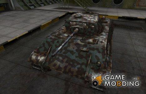 Горный камуфляж для VK 28.01 для World of Tanks