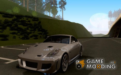 Nissan 350z Z-33 Light Tuning для GTA San Andreas