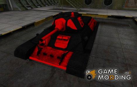 Черно-красные зоны пробития T-34 для World of Tanks
